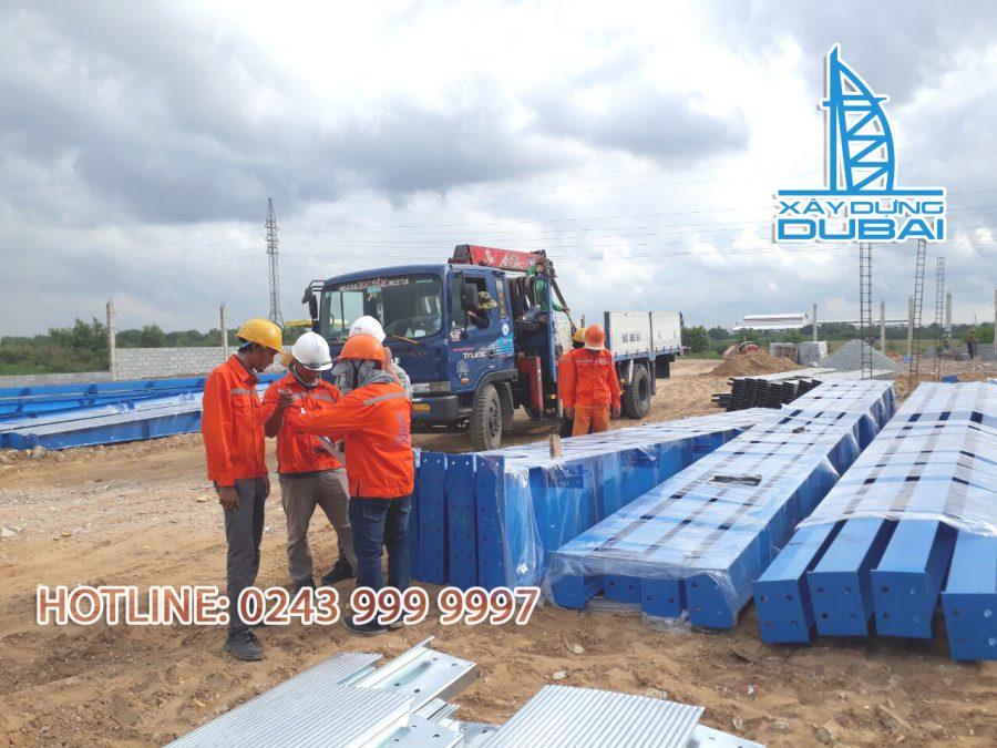 Đơn giá thi công xây dựng nhà xưởng nhà thép tiền chế