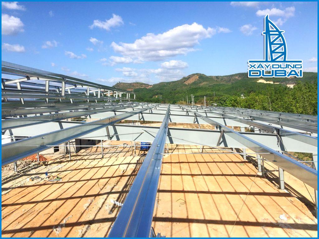Đơn giá xây dựng nhà thép tiền chế phụ thuộc yếu tố nào