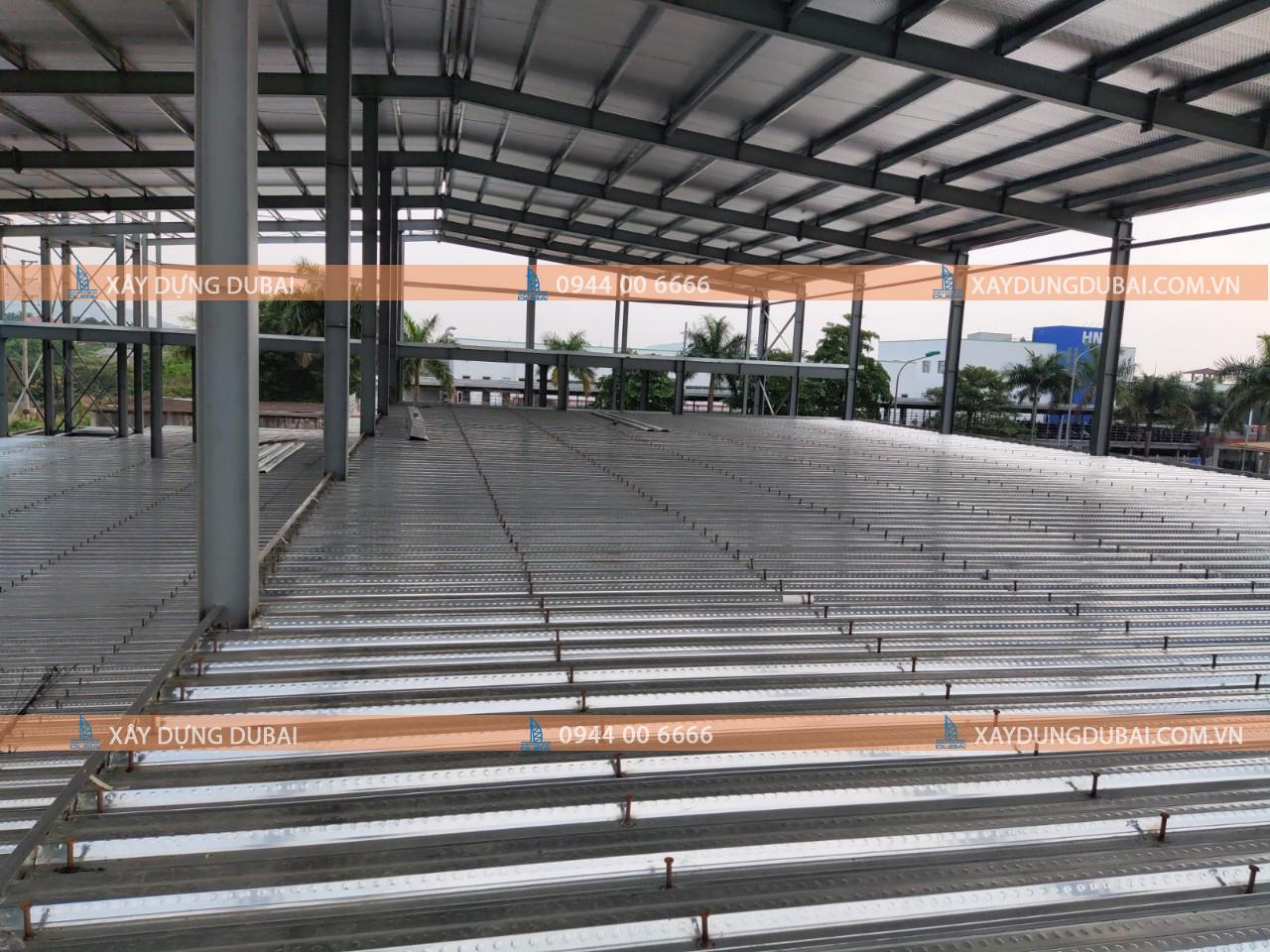 Kỹ thuật thi công sàn decking cho nhà xưởng