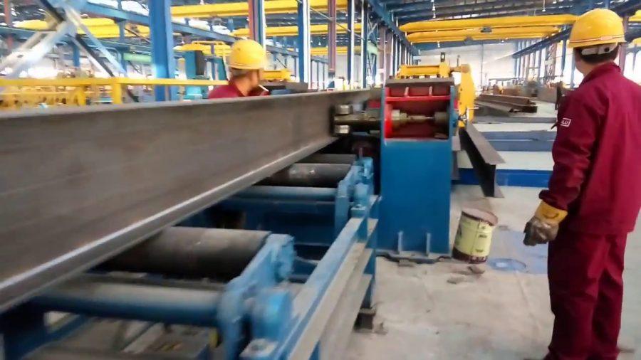 Nhà máy sản xuất gia công khung nhà thép
